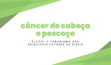 Câncer de cabeça e pescoço: álcool e tabagismo são principais fatores de risco
